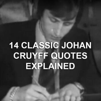 Johan Cruyff quotes // Isle Of Holland \\