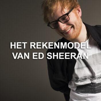 Ed Sheeran coververhaal// OOR \\